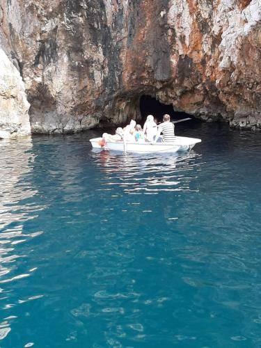 Little blue cave